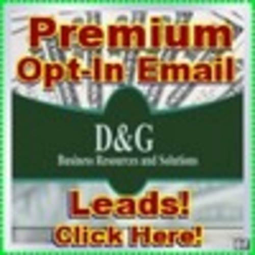 Product picture 50000 Opt-In Premium Email, Full Sales an Marketing Lead